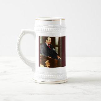 Al Capone - the real Scar Face Coffee Mug