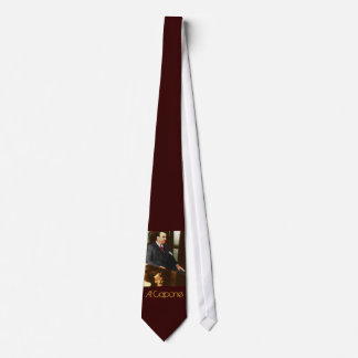 Al Capone - the real Scar Face Neck Tie
