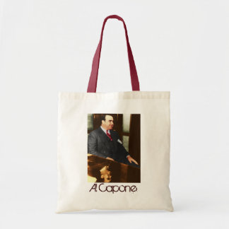 Al Capone - the real Scar Face Tote Bag