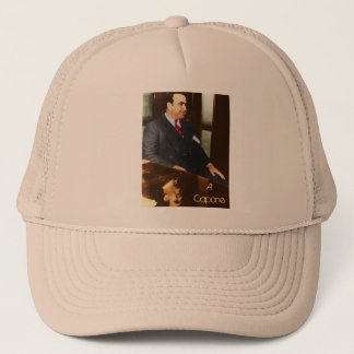 Al Capone - the real Scar Face Trucker Hat