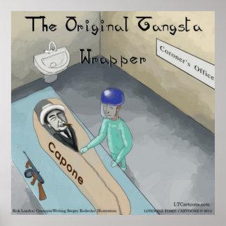 Al Capone's Funeral Funny Poster