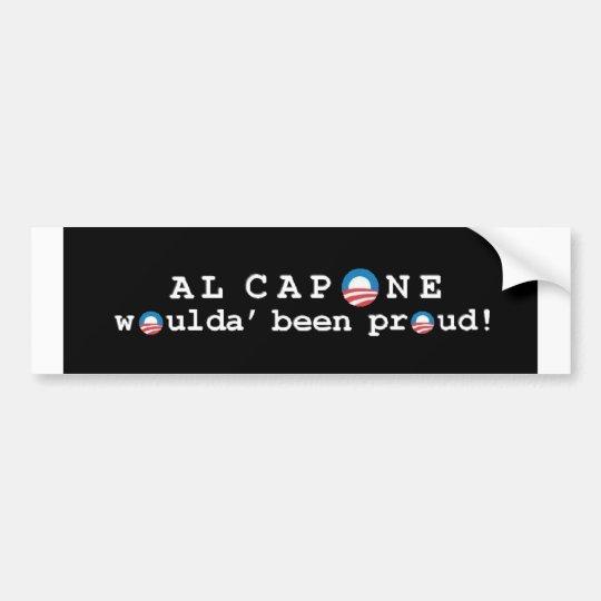 Al Capone's pride Bumper Sticker