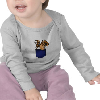 AL- Chipmunk in a Pocket Outfit Shirts