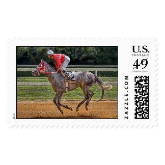 Al círculo del ganador sellos postales