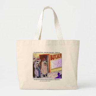 Al Cowpone & The Moofia Gang Funny Cows Large Tote Bag