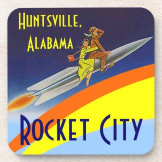 AL de Huntsville Alabama de la ciudad de Rocket de Posavasos