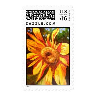 Al Di La Sunflower Postage Stamp