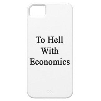 Al diablo con la economía iPhone 5 Case-Mate protectores