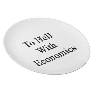 Al diablo con la economía platos