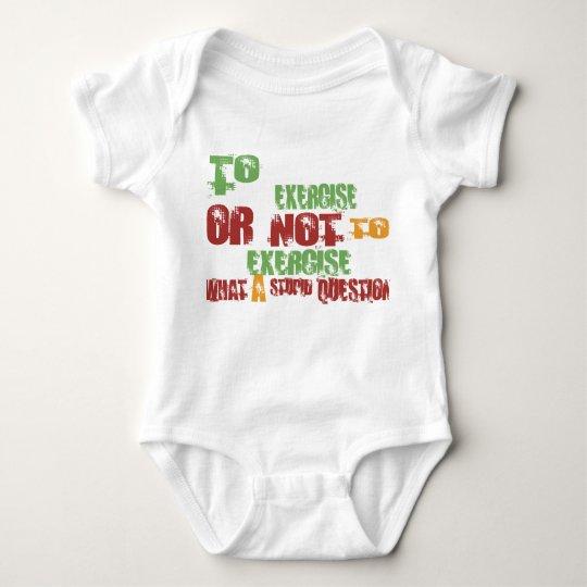 Al ejercicio body para bebé