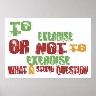 Al ejercicio poster