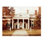 Al este frente de Monticello Tarjeta Postal