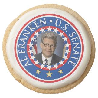 Al Franken 2014 Round Shortbread Cookie
