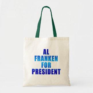 AL FRANKEN PARA EL PRESIDENTE BOLSAS DE MANO