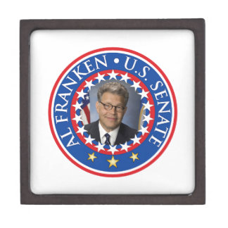 Al Franken U.S. Senate Keepsake Box