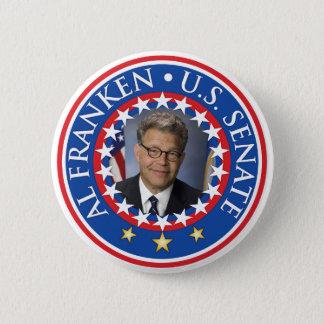Al Franken U.S. Senate Pinback Button