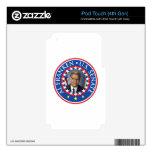Al Franken U.S. Senate Skins For iPod Touch 4G