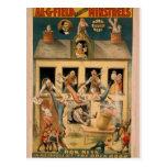 Al.G.Field Minstrels, 'The Open Door' Retro Theate Post Cards