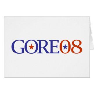 Al Gore 08 Tarjeta De Felicitación