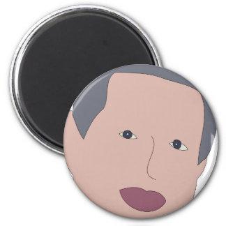 Al Gore 2 Inch Round Magnet