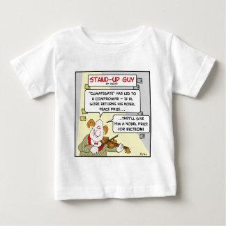 al gore climategate nobel prize fiction peace baby T-Shirt