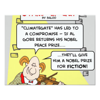 al gore climategate nobel prize fiction peace card