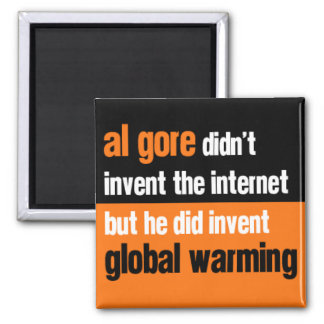 Al Gore Didn't Invent Refrigerator Magnet