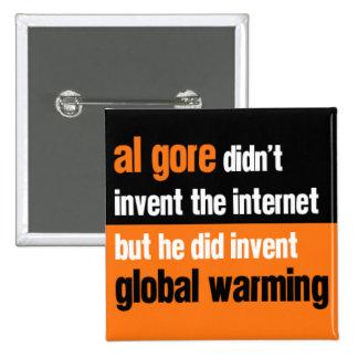 Al Gore Didn't Invent Pinback Button