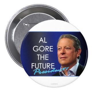 Al Gore el perno futuro 3 del presidente Pin