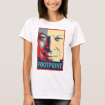 Al Gore - Footprint: OHP Ladies Baby Doll Top