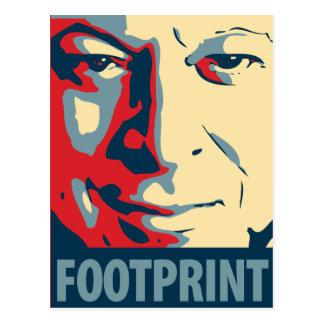 Al Gore - Footprint: OHP Postcard