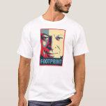 Al Gore - Footprint: OHP Poster T-Shirt