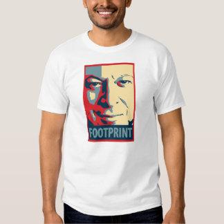 Al Gore - Footprint: OHP Poster Tee Shirts