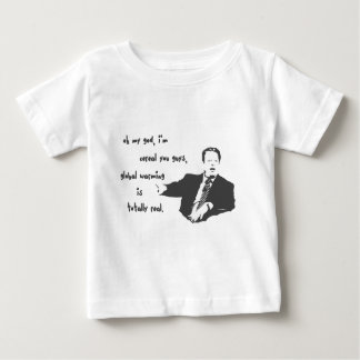 Al Gore Global Warming Farce Baby T-Shirt
