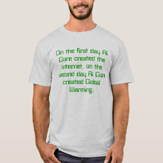 Al Gore Global Warming T-Shirt