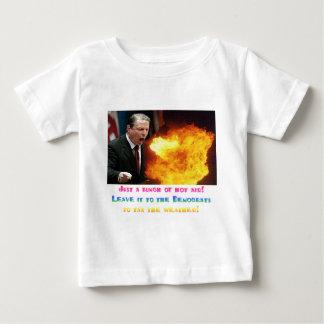 Al Gore Hot Air Baby T-Shirt