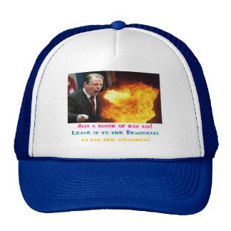 Al Gore Hot Air Trucker Hat