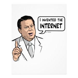 Al Gore, I invented the Internet Letterhead