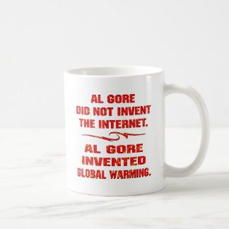 Al Gore Invented Global Warming Not The Internet Coffee Mug