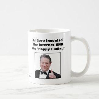 """Al Gore inventó la """"conclusión feliz """" Taza"""