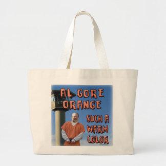 Al Gore Orange Tote Bag