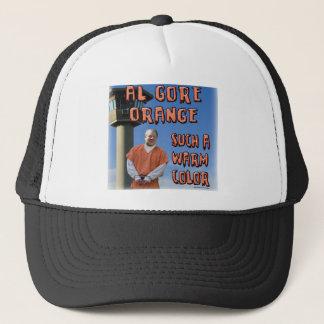 Al Gore Orange Trucker Hat
