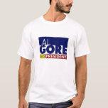 Al Gore para presidente V1 Playera