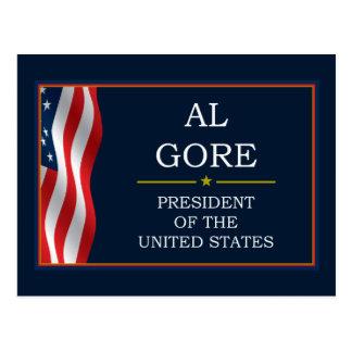 Al Gore President V3 Postcard