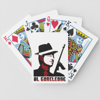 AL GORELEONE BICYCLE PLAYING CARDS
