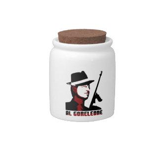 AL GORELEONE CANDY JAR