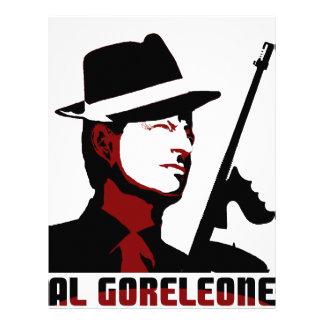AL GORELEONE CUSTOMIZED LETTERHEAD