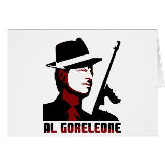 AL GORELEONE GREETING CARDS