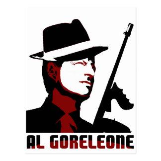 AL GORELEONE POST CARD