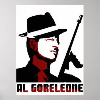 AL GORELEONE POSTER